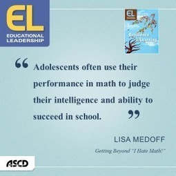 Remember the ABC's of Adolescent Math Learners | ASCD Inservice | Adolescent wellbeing | Scoop.it