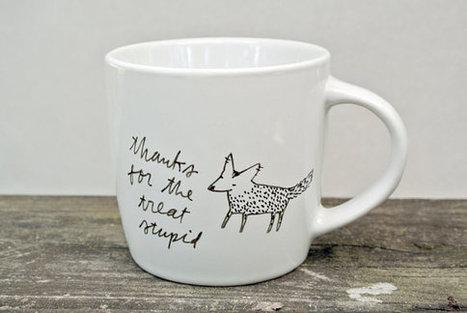 Thanks For The Treat Stupid mug   Etsymode   Scoop.it