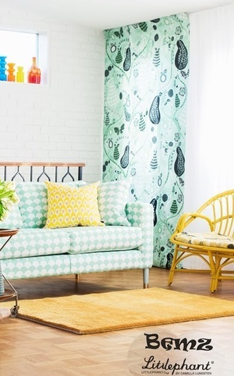 print & pattern: HOME COLLECTION - littlephant | Tales of a Museum Marauder | Scoop.it