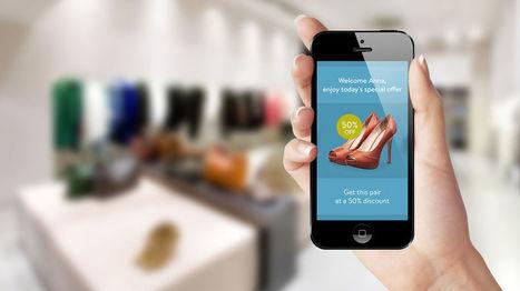Beacon, click and collect... Comment les centres commerciaux apportent un vrai service au client   Mobile To Store   Scoop.it