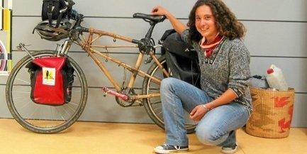 Piscénois : Sara, à travers l'Asie et l'Europe sur son vélo en bambou - Midi Libre | Vélonews | Scoop.it