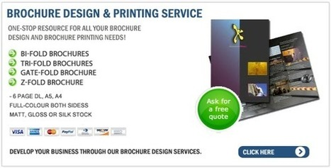Learning to print your own brochure | Brochure Printing | Scoop.it