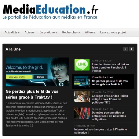 Media Education : Le portail de l'éducation aux médias en France | formation 2.0 | Scoop.it