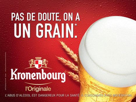 Nouvelle campagne de communication Kronenbourg   Publicité - Advertising   Scoop.it