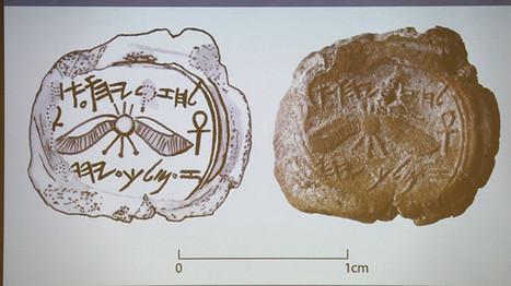 Hallan un objeto que podría haber pertenecido a un legendario rey bíblico | ArqueoNet | Scoop.it