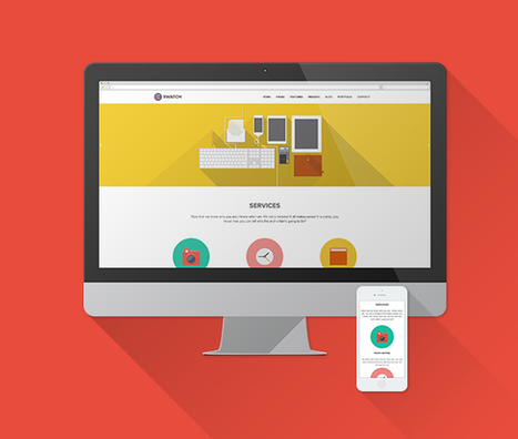 The latest trend in user interface: Flat Design | B2B Blog Tips, B2B Telemarketing, B2B Lead Generation Campaigns | Scoop.it