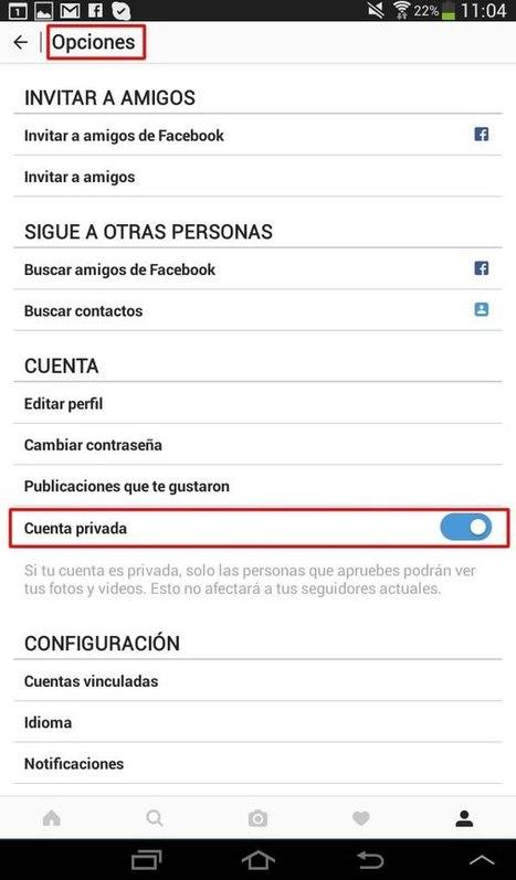 Paternidad Responsable: Cómo Configurar Privacidad para cuentas Instagram de menores   INTERNET Y NUEVAS TECNOLOGÍAS   Scoop.it