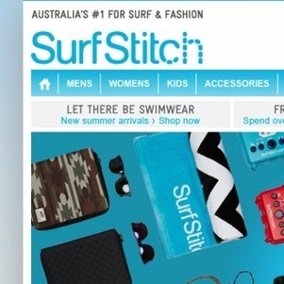 SurfStitch Catches The Personalisation Wave | eCommerce personalization | Scoop.it