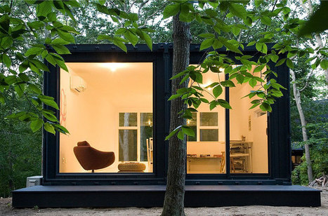 Container Studio by Maziar Behrooz Architecture | HomeDSGN, a daily source for inspiration and fresh ideas on interior design and home decoration. | Homing In | Scoop.it