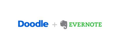 Evernote et Doodle unissent leurs forces ! - Evernote en français | Evernote, gestion de l'information numérique | Scoop.it