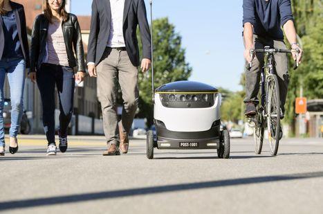 Robots et drones : un enjeu stratégique pour les groupes postaux | Les Postes et la technologie | Scoop.it