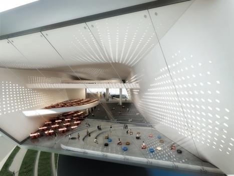 Architecture : la future bibliothèque hors norme de Dalian | Les bibliothèques et moi | Scoop.it