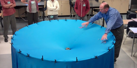 WATCH: Awesome Teacher Has Amazing Way Of Explaining Gravity | Bentonville Public Schools Science and Education | Scoop.it