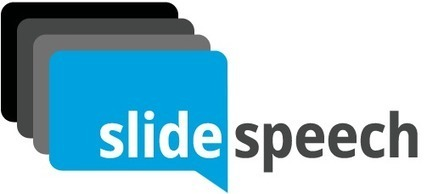 Add a Custom Voice-Over To Any Presentation with SlideSpeech | Technology and elearning | Scoop.it