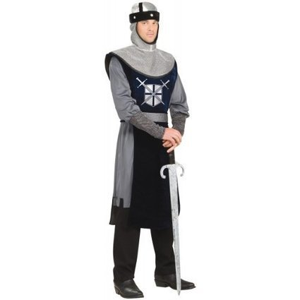 Halloween 2013 Forum Knight Of The Round Table Costume, Silver/Black, Standard from Forum Sales $ Deals | Halloween Costumes 2013 | Scoop.it