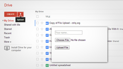 Allow Others to Upload Files to Your Google Drive with This Script | Jewish Education Around the World | Scoop.it