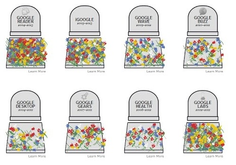 "The Google graveyard | L'impresa ""mobile"" 