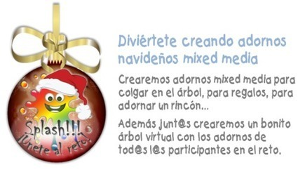 El Blog de Manos y Mente: Adornos navideños mixed media | Creatividad e Ideas creativas | Scoop.it
