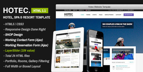 Hotec v1.1 Responsive Hotel Spa & Resort Template FULL Download | PremiumTemplatesDownload | PremiumTemplatesDownload | Scoop.it