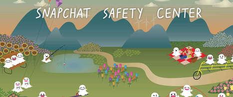 Snapchat lanceert Safety Center | Kinderen en internet | Scoop.it