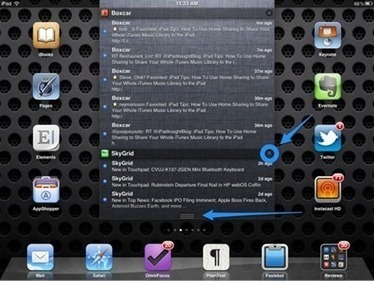 iPad Basics: How To Use Notification Center on the iPad — iPad Insight | iPads, MakerEd and More  in Education | Scoop.it