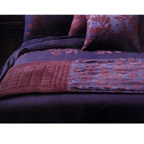 Utopia Purple Bed Runner by Accessorize - Manchester House | Soft Furnishings | Scoop.it