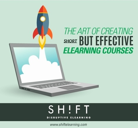 The Art of Creating Short, But Effective eLearning Courses | AprendizajeVirtual | Scoop.it