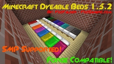 Dyeable Beds Mod Minecraft 1.6.2 – Minecraft Download America | ha giang | Scoop.it