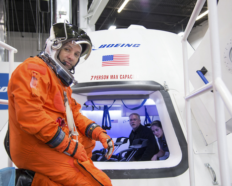 Boeing's CST-100 Completes Interface Test at NASA's Johnson Space Center | The NewSpace Daily | Scoop.it