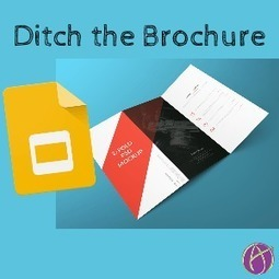 Why a Brochure? - Teacher Tech | Keeping up with Ed Tech | Scoop.it