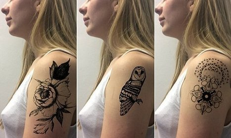 Want a tattoo but afraid to commit? This app lets you try on tattoos | Transmedia Spain | Scoop.it