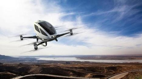 Passenger drone taxi cleared for take-off in US trials | Prospective territoriale | Scoop.it