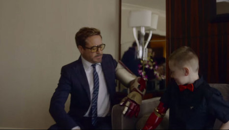 Ce petit garçon malformé reçoit le plus beau des cadeaux : un bras bionique offert par Iron Man lui-même | Je, tu, il... nous ! | Scoop.it