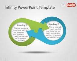 Free Infinity Diagram PowerPoint Template | Diagrams | Scoop.it