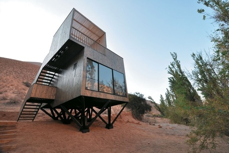 Hotel Elqui Domos, Chile: Sitting lightly within the desert landscape | sustainable architecture | Scoop.it