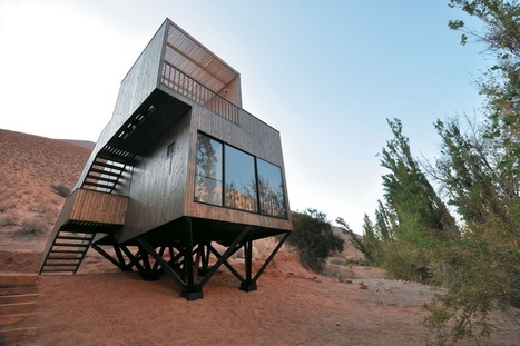 Hotel Elqui Domos, Chile: Sitting lightly within the desert landscape | PROYECTO ESPACIOS | Scoop.it