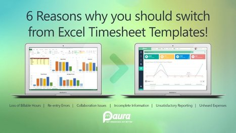 Why Using Excel Timesheets Is Big Mistake For Your Project!! | Project Management software | Scoop.it