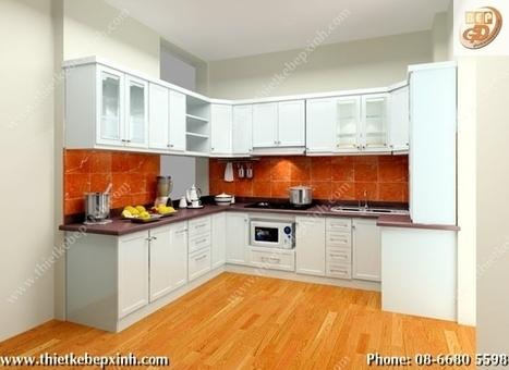 Tủ Bếp - Thiết Kế Nhà Bếp - Thiết Kế Bếp Đẹp | THIẾT KẾ NỘI THẤT - THIẾT KẾ NHÀ BẾP - THIẾT TỦ BẾP HIỆN ĐẠI - THIẾT KẾ TỦ BẾP GỖ | Scoop.it