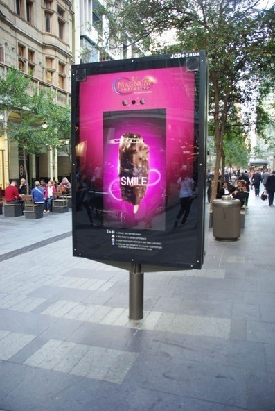 Magnum Infinity launches 'Australia's first' facial recognition billboard - mUmBRELLA | Ideas & Communication | Scoop.it