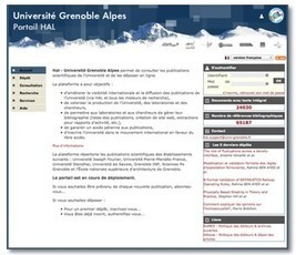 Archives ouvertes Université Grenoble Alpes - Le guide - Guide HAL - Archives ouvertes Université Grenoble Alpes   HAL et al.   Scoop.it