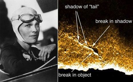 Amelia Earhart: sonar image shows what may be lost aviator's wrecked plane  - Telegraph | British Genealogy | Scoop.it