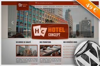 Thème Wordpress Hôtel => HotelConcept | BTS Tourisme option Information et multimédia | Scoop.it