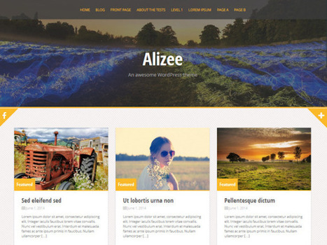 10 Of The Best Free WordPress Themes For Your Website | webdesign | Scoop.it