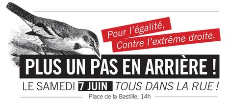 Samedi 7 juin, tous dans la rue contre l'extrême droite - Le Parti de ... | Lutter contre la frontisation des esprits | Scoop.it