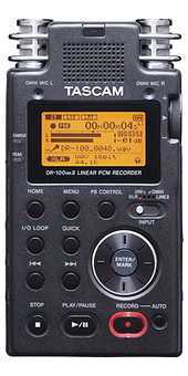 Product: DR-100MKII | TASCAM | DES ARTS SONNANTS - CRÉATION SONORE ET ENVIRONNEMENT - ENVIRONMENTAL SOUND ART | Scoop.it
