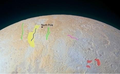 La variegata geologia di Plutone: i canyon congelati del polo Nord | Space & Astronony | Scoop.it