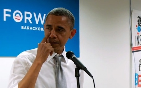"Yes We Cry: Obama Tears Up Thanking Campaign Staff [VIDEO] | L'impresa ""mobile"" 