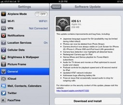 iOS 5.1 update | iPads in Education Daily | Scoop.it