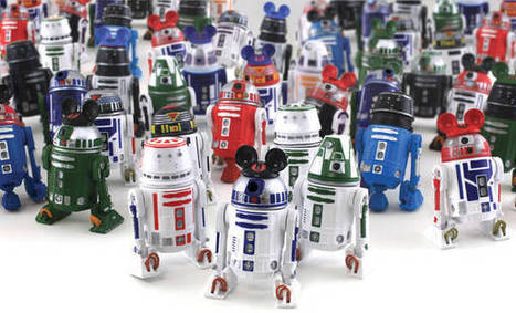 Make your own Star Wars droid at Disney World | Global Projects To Flatten Your Classroom | Scoop.it