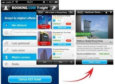 Booking.com Tonight: perché il lastminute su mobile segna il cammino del Turismo futuro | Tecnologie  e tecniche per il Turismo 2.0 | Scoop.it